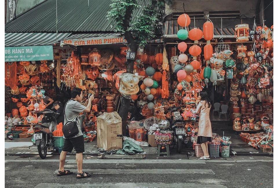 Có một CON PHỐ ĐÈN LỒNG những ngày Tết Trung thu khác biệt giữa lòng Thủ đô Hà Nội
