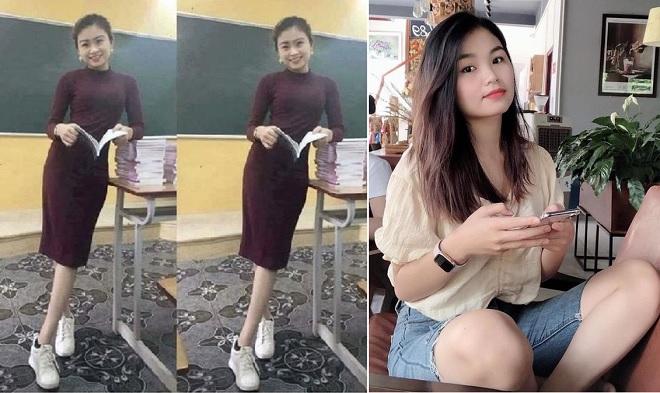 """""""Cô giáo"""" trong bức ảnh gây bão mạng hóa ra là nữ sinh ngành Dược xinh đẹp"""