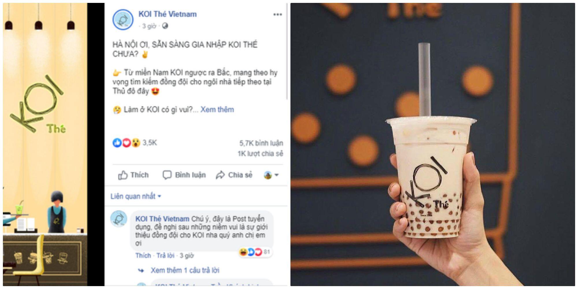 """Tin được không? Trà sữa KOI Thé nức nở Sài Thành sắp sửa """"cập bến"""" thủ đô Hà Nội"""