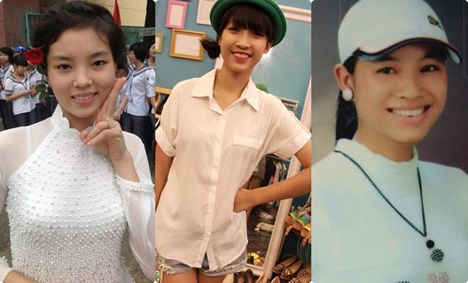 """Hình ảnh thời đi học của dàn Hoa hậu Việt Nam: Không chỉ """"ngố tàu"""", có người còn sở hữu làn da đen và mái tóc xù"""