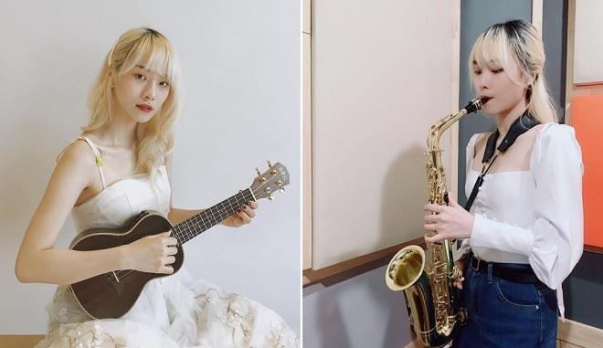 Nữ sinh xinh đẹp biết thổi kèn saxophone, chơi ukulele nuôi ước mơ trở thành nghệ sỹ đa năng