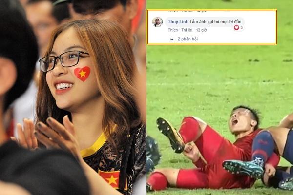 """Quang Hải ngã bầm dập ở Thái Lan, Nhật Lê đăng ảnh bất ngờ, fan mừng thầm """"Ơn giời gương vỡ lại lành"""""""