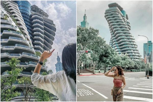 """Lộ diện TÒA NHÀ XOẮN ỐC - điểm check-in đang """"đốn tim"""" tín đồ du lịch ở Đài Loan"""