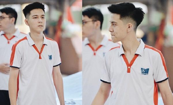 """Nhan sắc khác xưa, """"hot boy cầm cờ"""" trường Phan Đình Phùng vẫn gây sốt với gương mặt phúng phính"""