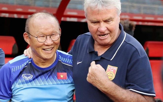 [Trực tiếp] U22 Trung Quốc vs U22 Việt Nam: HLV Park Hang-seo chạm trán cố nhân Guus Hiddink