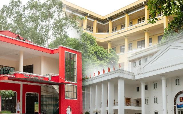 """Sinh viên Đại học Hà Nội """"lên đời sống ảo"""" với những tòa nhà nhiều màu sắc được sơn mới chỉ sau một mùa hè"""