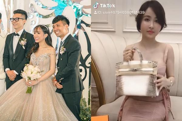 Chẳng thèm ngó ngàng đến đám cưới của con gái chồng, vợ 2 Minh Nhựa ngồi nhà đập hộp túi Hermes 10 tỷ
