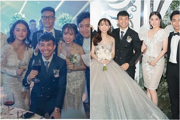 """Dự đám cưới con gái đại gia Minh Nhựa, Phạm Quỳnh Anh, Khánh Thi bị chê bai nhiệt tình vì ăn mặc """"lồng lộn"""" hơn cả cô dâu"""