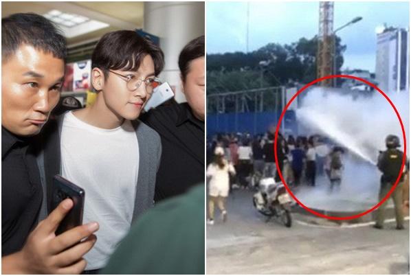"""""""Hậu cung"""" hỗn loạn vì không gặp được Ji Chang Wook, tố bị BTC chích điện, xịt bình chữa cháy"""