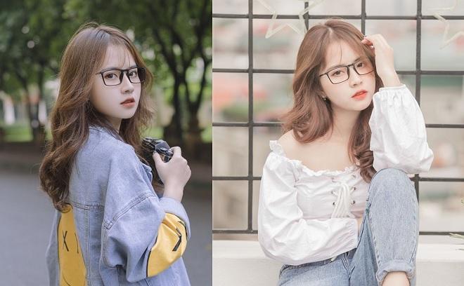 Hot girl Học viện Báo chí và Tuyên truyền khoe vẻ đẹp lung linh như idol Hàn Quốc
