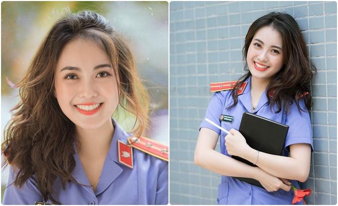 """Nữ kiểm sát viên xinh đẹp được mệnh danh """"bạn gái quốc dân"""", hé lộ thời sinh viên tuyệt vời ở Đại học Kiểm sát Hà Nội"""