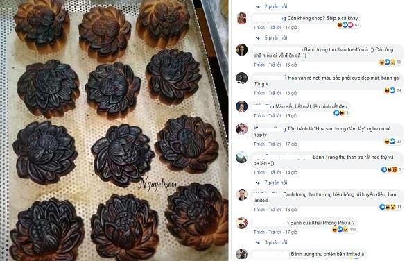 """Chồng tố vợ nướng bánh cháy đen, ai ngờ bị CĐM """"thông não"""": """"Bánh Trung thu bóng đêm đấy, chồng chẳng hiểu gì cả"""""""