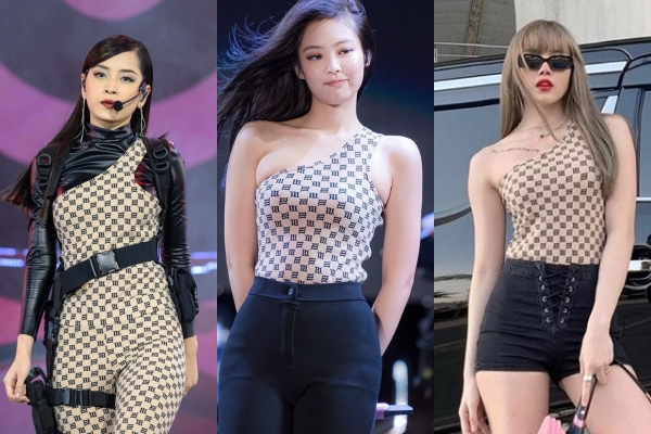 Cùng diện bodysuit, Jennie (BlackPink) lép vế hơn hẳn Chi Pu và Thiều Bảo Trâm chỉ vì lộ ngấn mỡ vùng nách