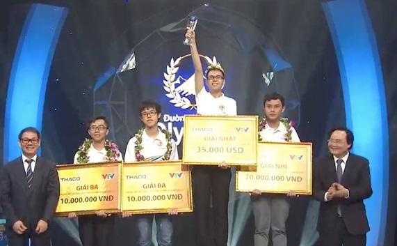Vòng nguyệt quế Đường lên đỉnh Olympia 2019 gọi tên học sinh chuyên Phan Bội Châu