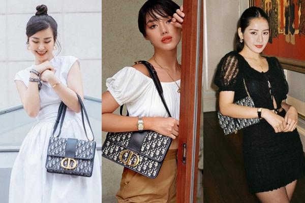 """Hóa ra không chỉ riêng Sĩ Thanh, chiếc túi Dior """"tai tiếng"""" còn hấp dẫn cả dàn mỹ nhân Việt"""
