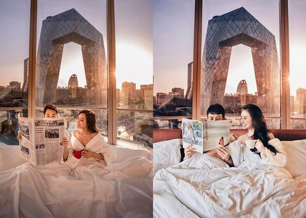 Những pha mượn ảnh du lịch của vợ chồng Minh Nhựa vẫn chào thua trước hotgirl này, xem ảnh mà dân tình cười ngất!