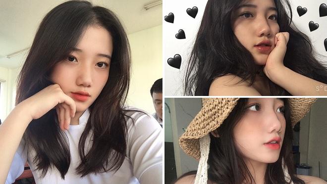 Sở hữu góc nghiêng cực giống Suzy cùng Instagram triệu view, cô bạn được mệnh danh hot girl áo dài Đà Nẵng
