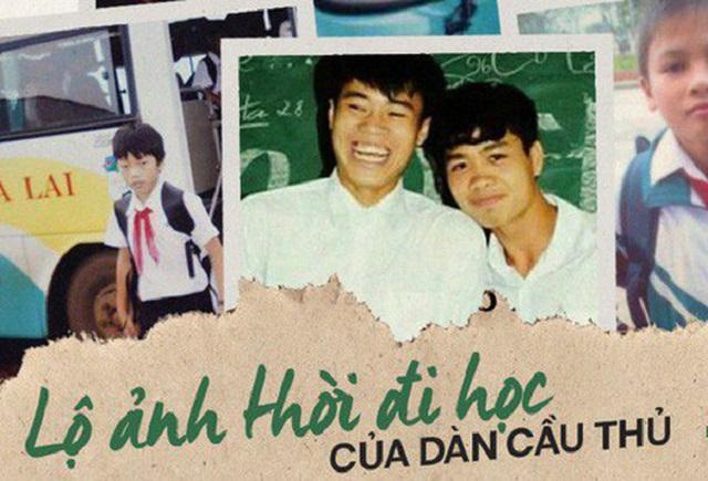 """Loạt ảnh """"ngố tàu"""" thời đi học của dàn """"soái ca"""" bóng đá Việt Nam đáng yêu """"hết nấc"""""""