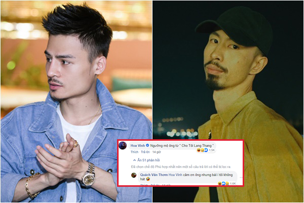 """""""Thảo mai"""" nịnh nọt Top 1 Trending Da LAB, ai ngờ Hoa Vinh bị """"quê"""" vì nhầm sang hit Đen Vâu!"""