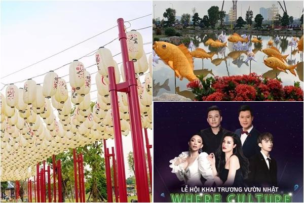 Khai trương Khu vườn Nhật Bản đẳng cấp ngay tại Hà Nội, đi chơi còn có cơ hội gặp Mỹ Tâm, Sơn Tùng