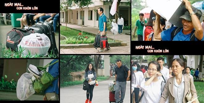 """Xúc động bộ ảnh """"Ngày mai... con khôn lớn"""" của sinh viên ĐH KHXH&NV TP HCM nhắc nhớ về công ơn cha mẹ"""