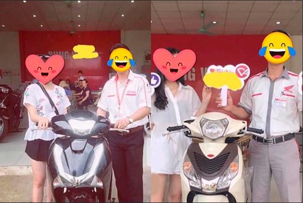 """Cô gái tự hào khoe """"chiến tích"""" khi yêu: Mỗi lần thay bạn trai là được tặng 1 chiếc xe máy """"xịn"""" giá đến 100 triệu đồng"""