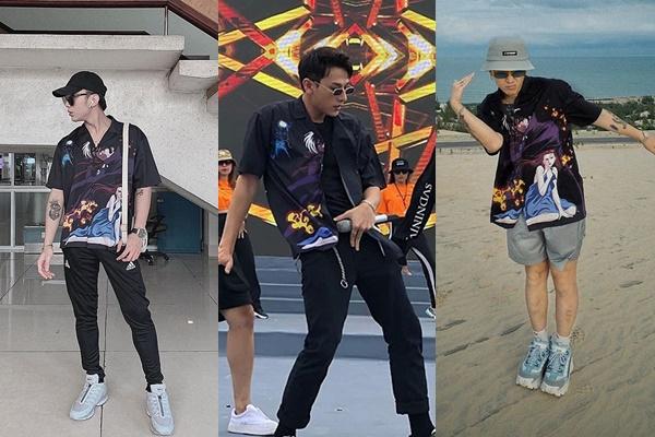 Soobin, Isaac, Thơm (Da LAB) cùng mặc 1 chiếc áo nhưng không chất bằng người này