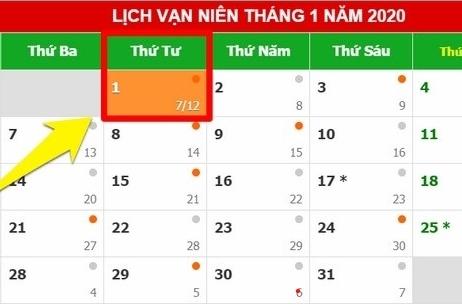 [HOT] Tết dương lịch năm nay sẽ có thêm 2 ngày nghỉ chính thức, set kèo đi chơi ngay và luôn chứ còn gì nữa