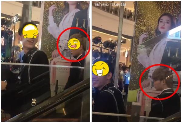 Lại lộ clip ca sĩ J. mặt lạnh như băng khi được fans chào đón, mặc đồng nghiệp K. cười thân thiện?