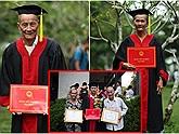 Nam sinh ĐH Cần Thơ mặc áo cử nhân cho ông bà trong ngày tốt nghiệp và sự thật bất ngờ phía sau