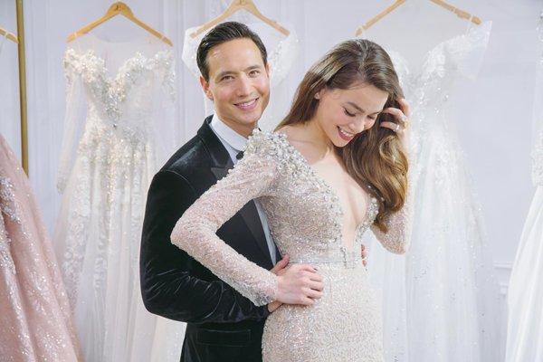 Lộ hình ảnh Hồ Ngọc Hà - Kim Lý diện đồ cưới, CĐM rần rần: Sắp có một đám cưới diễn ra?