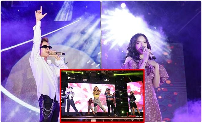 """Đêm nhạc chào đón tân sinh viên trường Báo: Sinh viên """"quẩy"""" tung trời với Lyly và Lou Hoàng"""