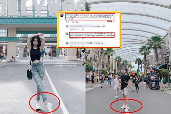 """Linh Ka và Will bị tố chẳng ngại công khai: Đi giày đôi, ôm hôn trong nhà hàng, để cả trạng thái """"đính hôn"""" trên FB"""