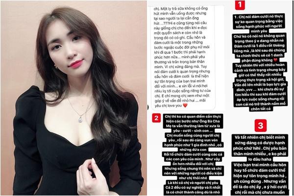 """Fans góp ý chân thành, Hòa Minzy lại khoe chồng giàu, tự hào """"có tiền như chị mới được sống thử"""""""
