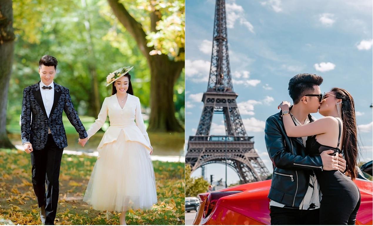 """Nữ giảng viên xinh đẹp khoe ảnh cưới """"chanh sả"""" ở Pháp nhưng dân tình chỉ chú ý đến body của cô dâu"""
