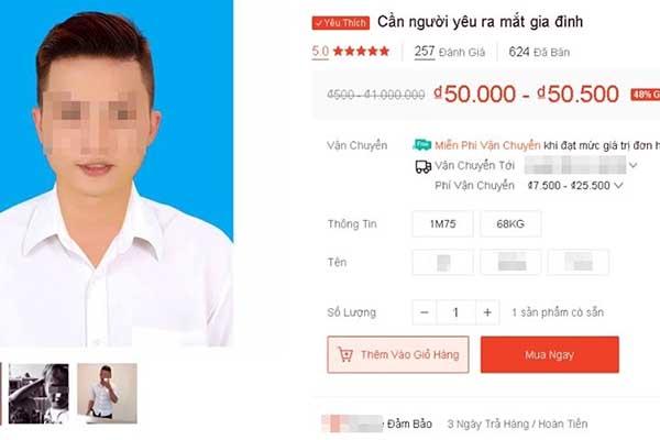 """Quá ế, thanh niên đăng thông tin """"rao bán chính chủ"""" lên trang bán hàng online để tìm người yêu"""