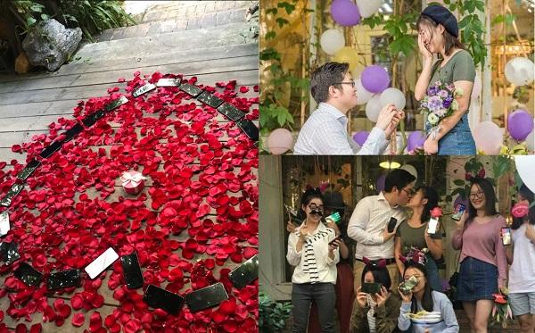 Chi 800 triệu mua 25 chiếc iPhone X cầu hôn bạn gái, ai ngờ kết thúc màn tỏ tình, nàng mang iPhone X tặng hết bạn bè