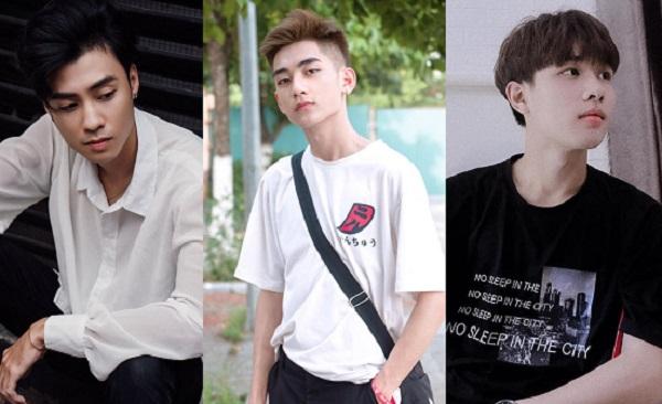 3 chàng hot boy điển trai nhất trường Kinh Công khiến chị em ngắm hoài không chán