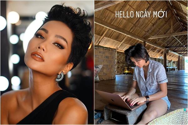 """Động thái đáp trả của """"Hoa hậu quốc dân"""" HHen Niê trước tin đồn mang bầu với bạn trai đại gia"""