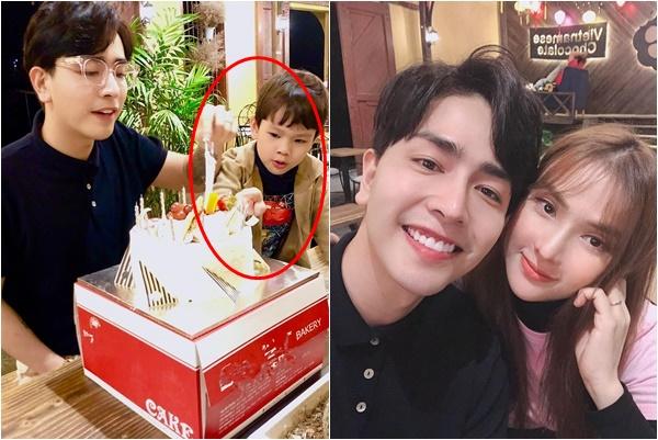 Thái độ bé Henry trong sinh nhật bố dượng tiết lộ mối quan hệ thật của gia đình Thu Thủy?