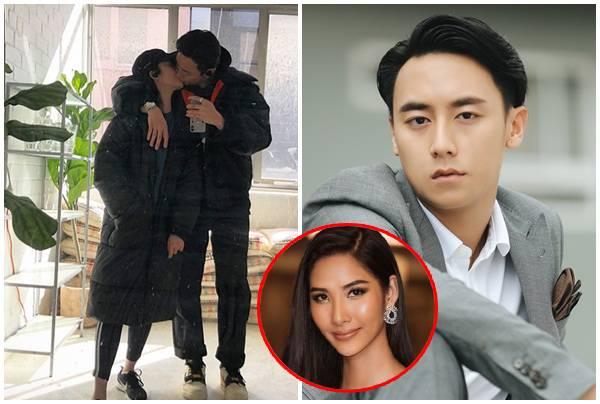 Dòng status than vãn của Hoàng Thùy khi Rocker Nguyễn công khai hôn bạn gái mới
