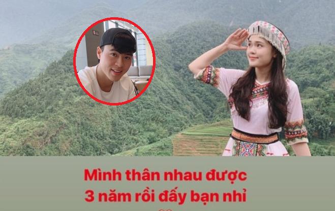 """Trong khi Quang Hải, Văn Đức chia tay người yêu, Duy Mạnh hạnh phúc kỷ niệm 3 năm yêu """"công chúa béo"""""""