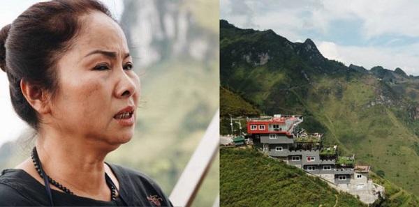 """Bà chủ Mã Pì Lèng Panorama nói """"chỉ còn nước nhảy xuống sông Nho Quế"""" nếu công trình trái phép bị thu hồi"""