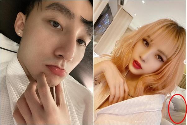 Fans thất vọng khi Sơn Tùng lộ ảnh mặc áo ngủ đôi, nằm trên giường khách sạn với bạn gái tin đồn?