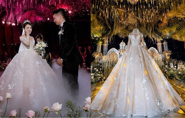 Toàn cảnh lễ cưới cổ tích của Âu Hà My: Cô dâu khóc như mưa trong ba bộ váy cưới đính kim cương trị giá gần 1 tỷ