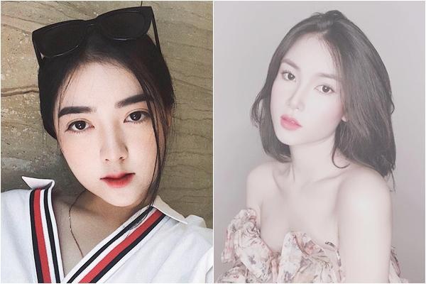 """[Góc phát hiện] Nhìn bạn gái mới của Bùi Tiến Dũng cứ thấy quen quen, hóa ra là """"chị em song sinh"""" với bạn gái Hà Đức Chinh?"""