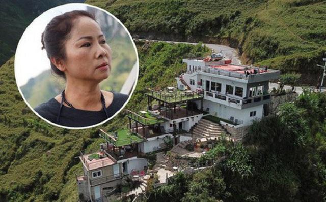Bà chủ Mã Pì Lèng Panorama đầu tư 10 tỷ đồng, vay ngân hàng 2 tỷ đồng với lãi suất gần 20 triệu đồng/tháng vào công trình không phép
