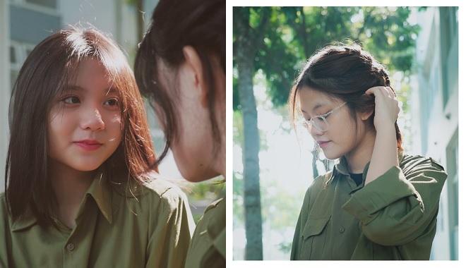 """Loạt ảnh quân sự xinh đẹp của nữ sinh trường """"người ta"""" khiến bao chàng """"đứng ngồi không yên"""""""