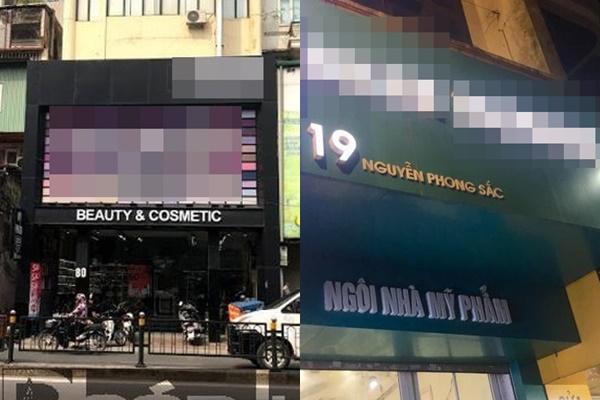 """Hàng loạt cửa hàng mỹ phẩm có tiếng ở Hà Nội """"ấp úng"""" khi bị hỏi về nguồn gốc sản phẩm"""