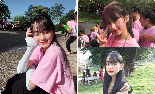 """Cùng quê với Hoa hậu H'Hen Niê, nữ sinh Đại học Tôn Đức Thắng """"đốn tim"""" cộng đồng với vẻ đẹp ngọt ngào, thánh thiện"""
